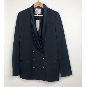 Zara Trafaluc Oversize Blazer Coat Size Large